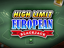 High Limit European Blackjack